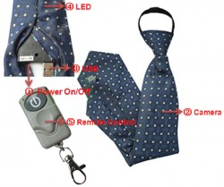 Spy Neck Tie Camera In Sagar